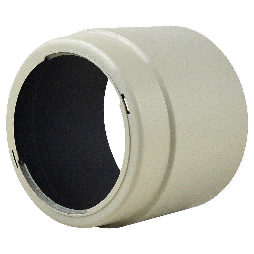 MENGS/® ET-74 Bayonet Forme Lens Hood Pour Canon EF 70-200mm f//4L USM Blanc EF 70-200mm f//4L IS USM