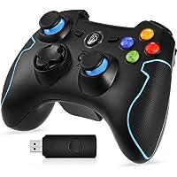 EasySMX ESM-9013-Blue-EU- Controller gioco senza fili, Nero/Blu