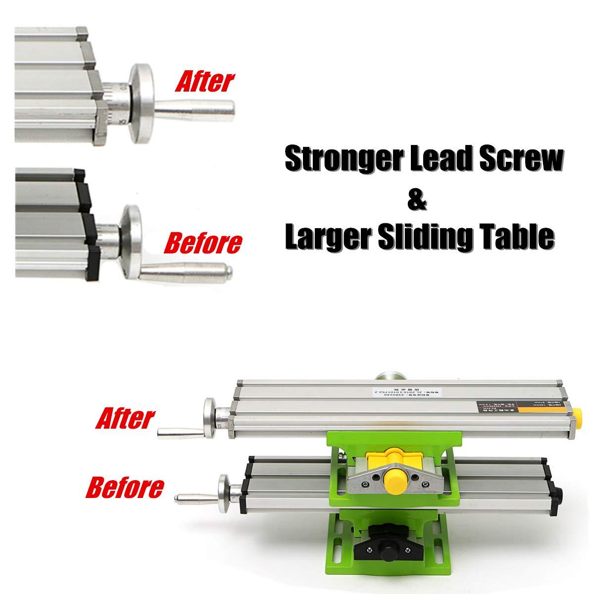 MINIQ BG6330 Mini Precision Milling Machine Worktable Multifunction Drill Vise Fixture Working Table