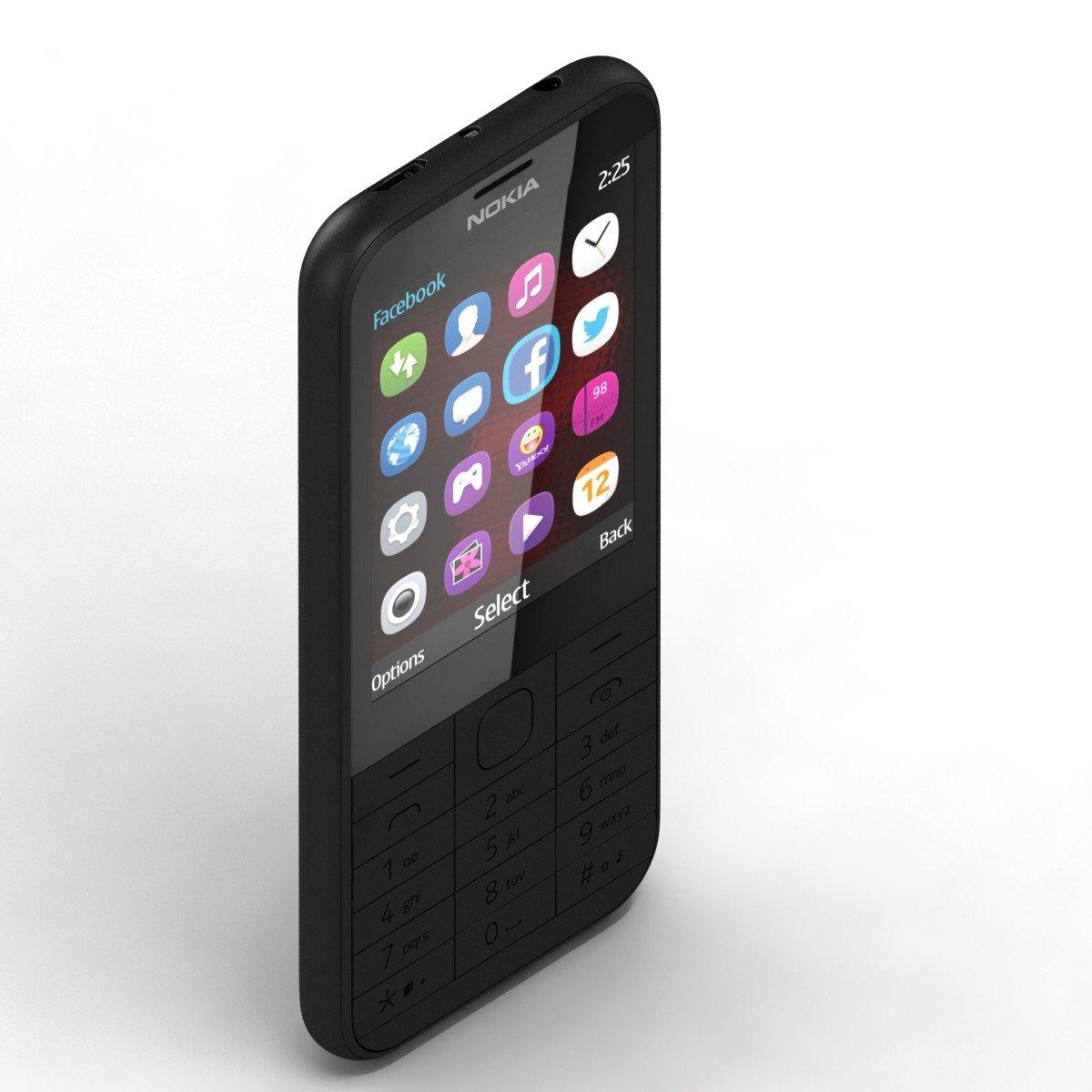 Nokia 225 (Dual SIM, Black): Amazon.in: Electronics