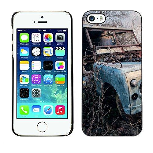 Hülle Case Schutzhülle Cover Premium Case // F00003192 draussen // Apple iPhone 5 5S 5G
