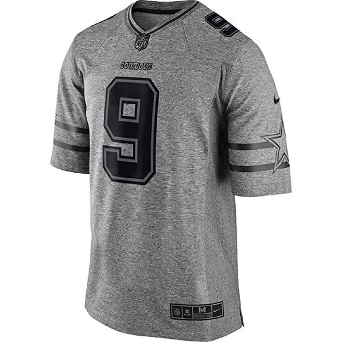 Nike Men s Dallas Cowboys Tony ROMO Gridiron Gray Limited Jersey  Amazon.ca   Clothing   Accessories 2f5948366