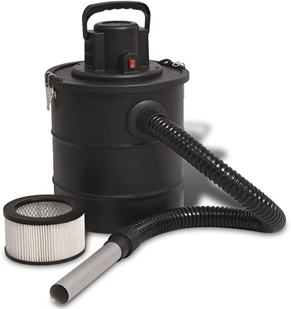 luckyfu aspirador de cenizas 1200 W 20 L negra Aspiradora para casa Aspiradora portátil aspiradora industrial: Amazon.es: Hogar