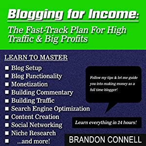 Blogging for Income Audiobook