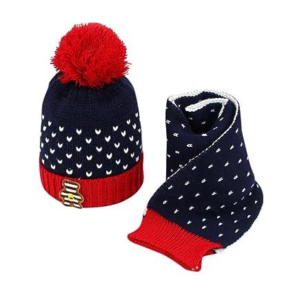 Sombreros de bebé, Amlaiworld 2pcs Bebé niños chicos niñas punto ...