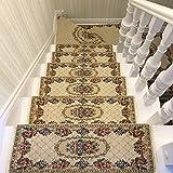 Stair pad Carpet Stepping mat Household Non-Slip Rectangle Doormat Carpet Stair Carpet