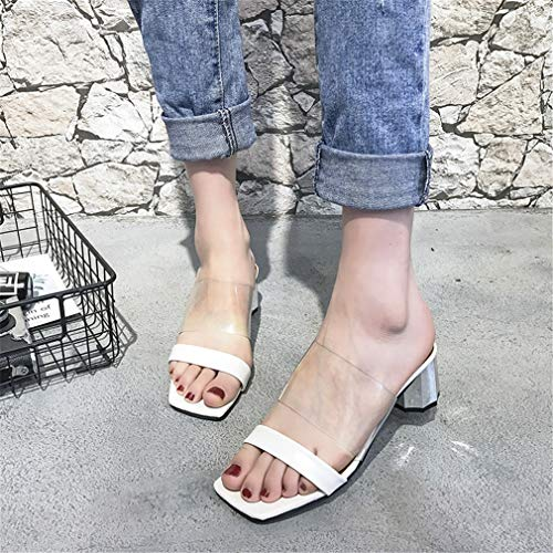Chaussons Transparentes White D'Étudiant pour Les Chaussures Femmes des Portent YUCH q7UwBOa