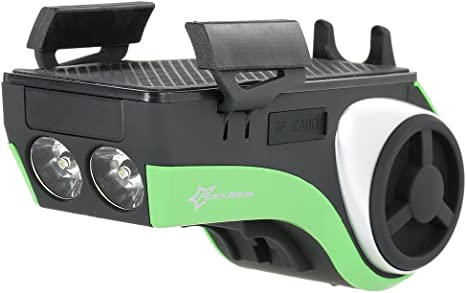 Lixada Multifunctional Bicicleta BT Audio Soporte Reproductor MP3 ...