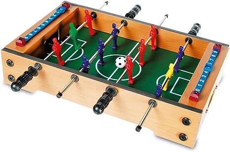 Mini futbolín de fútbol de mesa de futbolín de fútbol Kicker 35 x 21 cm
