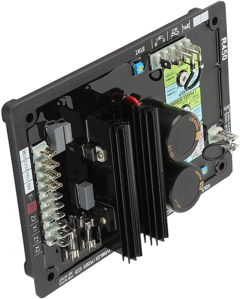 R450 AVR Voltage Regulator Brushless Diesel Generation Control Board System Automatic Set Accessory