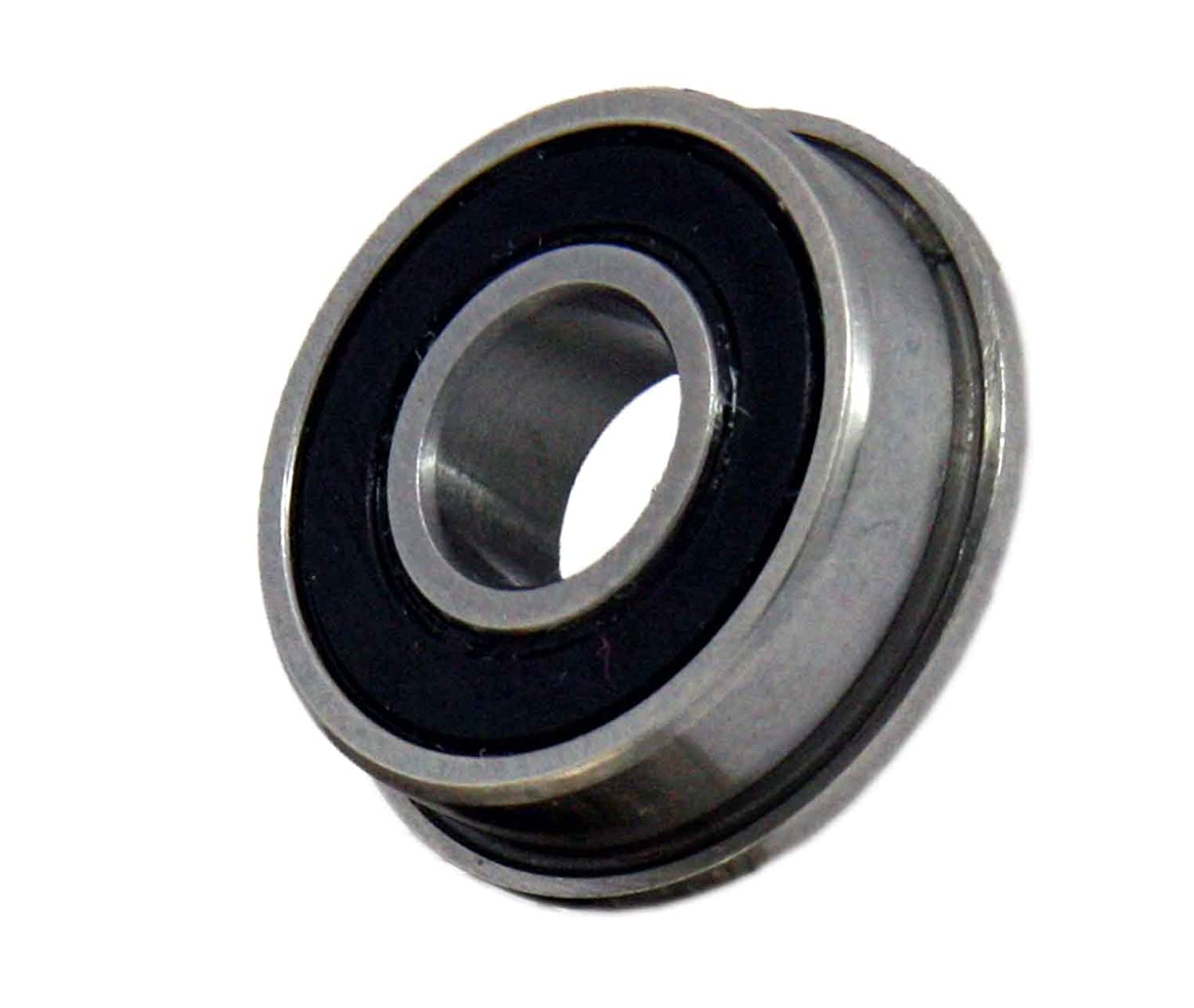 Flanged Sealed FR4-2RS 1/4 x 5/8 x.196 inch Miniature Ball Bearings VXB Brand
