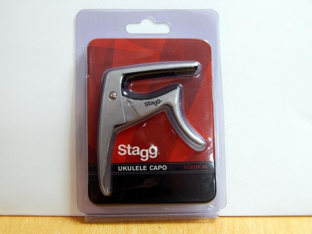 Stagg 21301 Capodastre pour Ukul/él/é Chrom/é//Mat