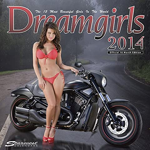 [2014 Calendar] Dreamgirls 2014 Poster Calendar Poster Calendar - Hooters Calendar