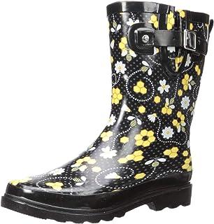 da92043c96ba8 Amazon.com   Western Chief Women Solid Mid Waterproof Rain Boot ...