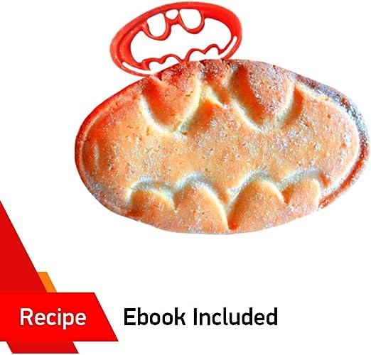 Wilton Plaque Cookie Cutter /& Fondant Pâte Forme Cutters Set complet de 6