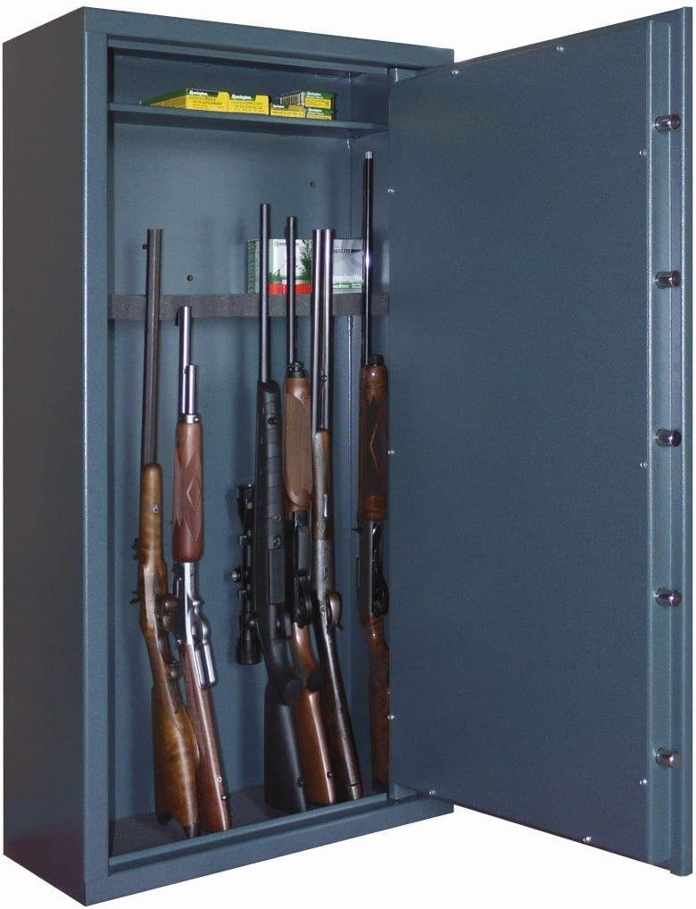 Infac-Caja fuerte Infac para escopetas y rifles con armas 12-Gafas y estuche de interior: Amazon.es: Deportes y aire libre