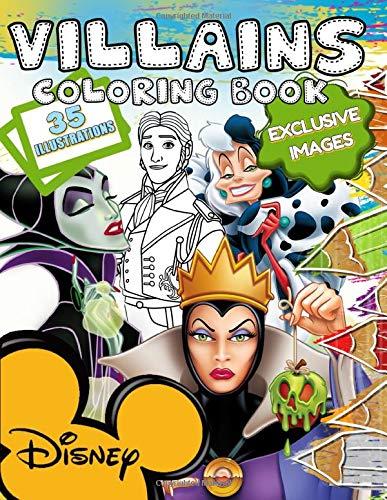 Disney Villains Coloring Book