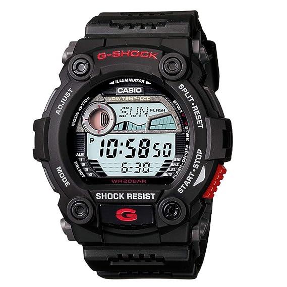 a6db48e77a04 Casio Reloj Digital para Hombre de Cuarzo con Correa en Resina G-7900-1ER   Casio  Amazon.es  Relojes