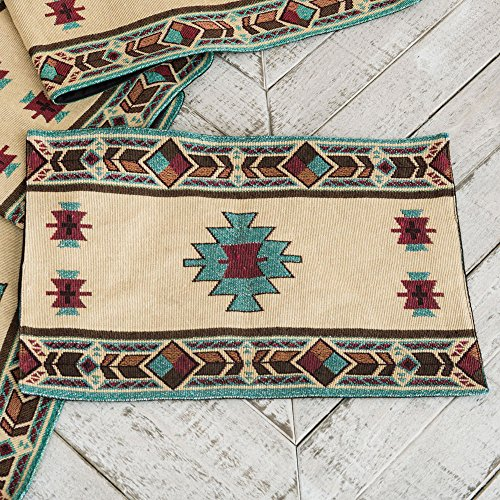 Hopi Southwestern Placemat - Rustic Kitchen Tableware