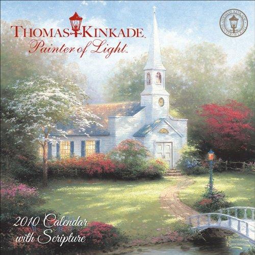 (Thomas Kinkade Painter of Light with Scripture: 2010 Mini Wall Calendar)