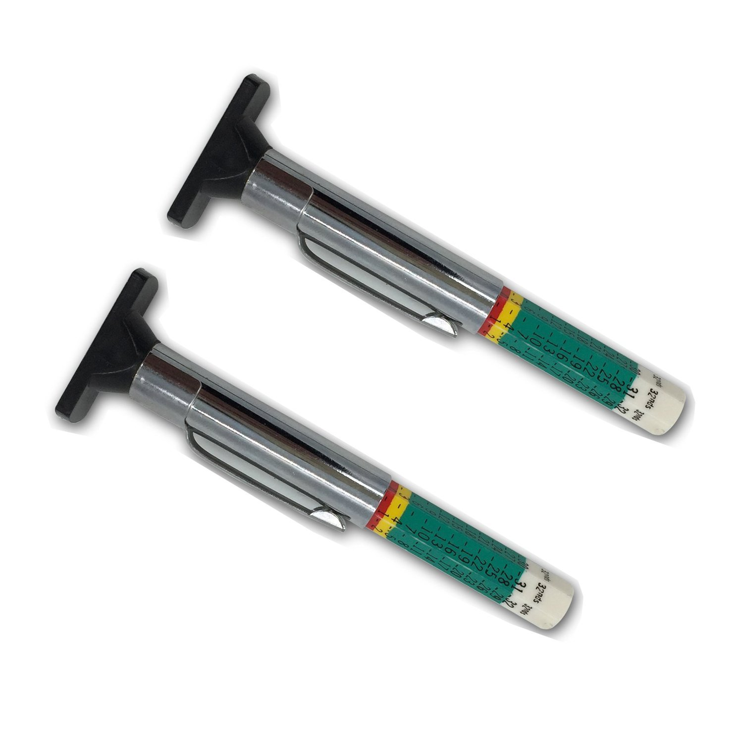 GODESON 88702 Smart Color Coded Tire Tread Depth Gauge