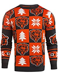 NFL 2016 Patches Ugly Crewneck Sweater, Team Options
