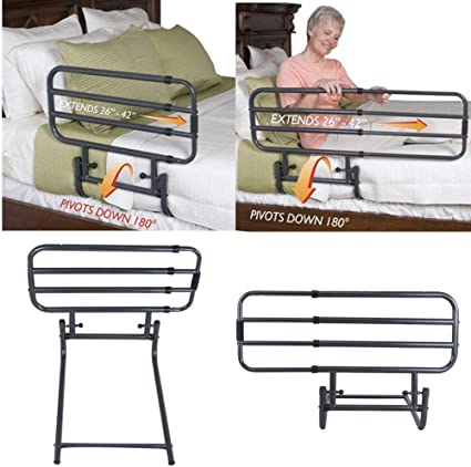 Amazon Com Bed Rail For Elderly Safety Strap Guard Hand Rails