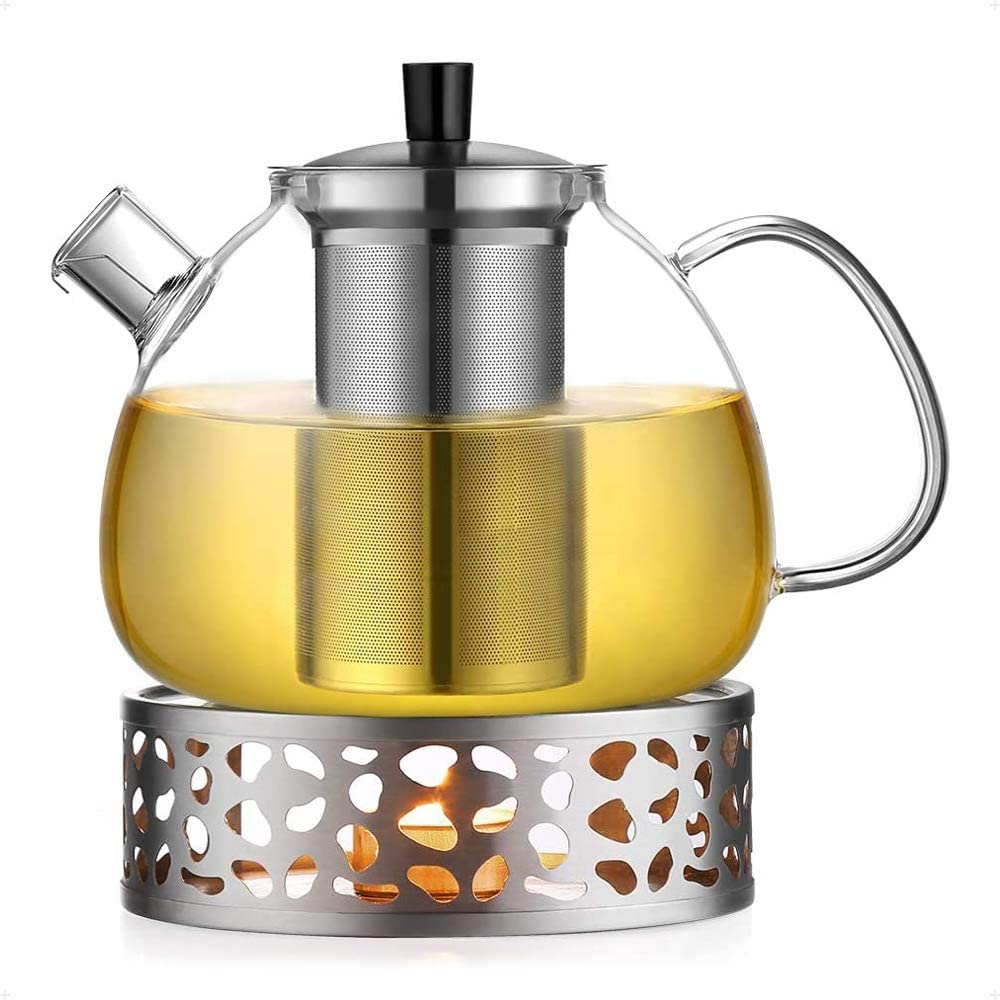 ecooe Teekanne mit Stövchen