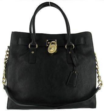 52ff4845a16a Amazon.com  Michael Kors Hamilton Women s Large Tote Handbag Bag Purse  North South  Michael Kors  Shoes