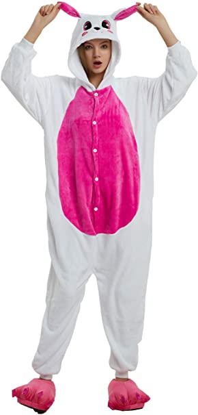 Life Life-UK Pijama Animal Unicornio Entero para Adultos/Niño 3D ...
