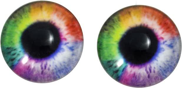 Human Doll Eyes Taxidermy Craft Cabochon Glass Eyeball Set 35mm