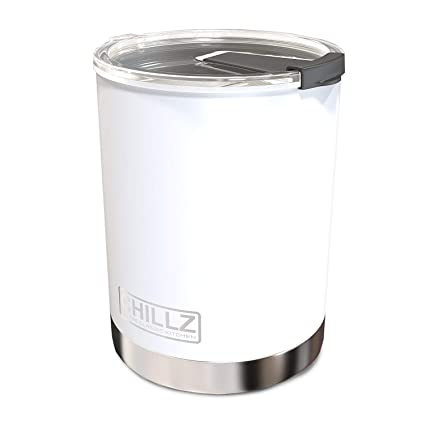 fff83021248 Amazon.com: Chillz Stainless Steel Vacuum Insulated Tumbler with ...