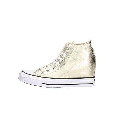 best service 82a77 41afa Converse - Converse All Star Damen Keilschuhe Gold Ct Lux ...