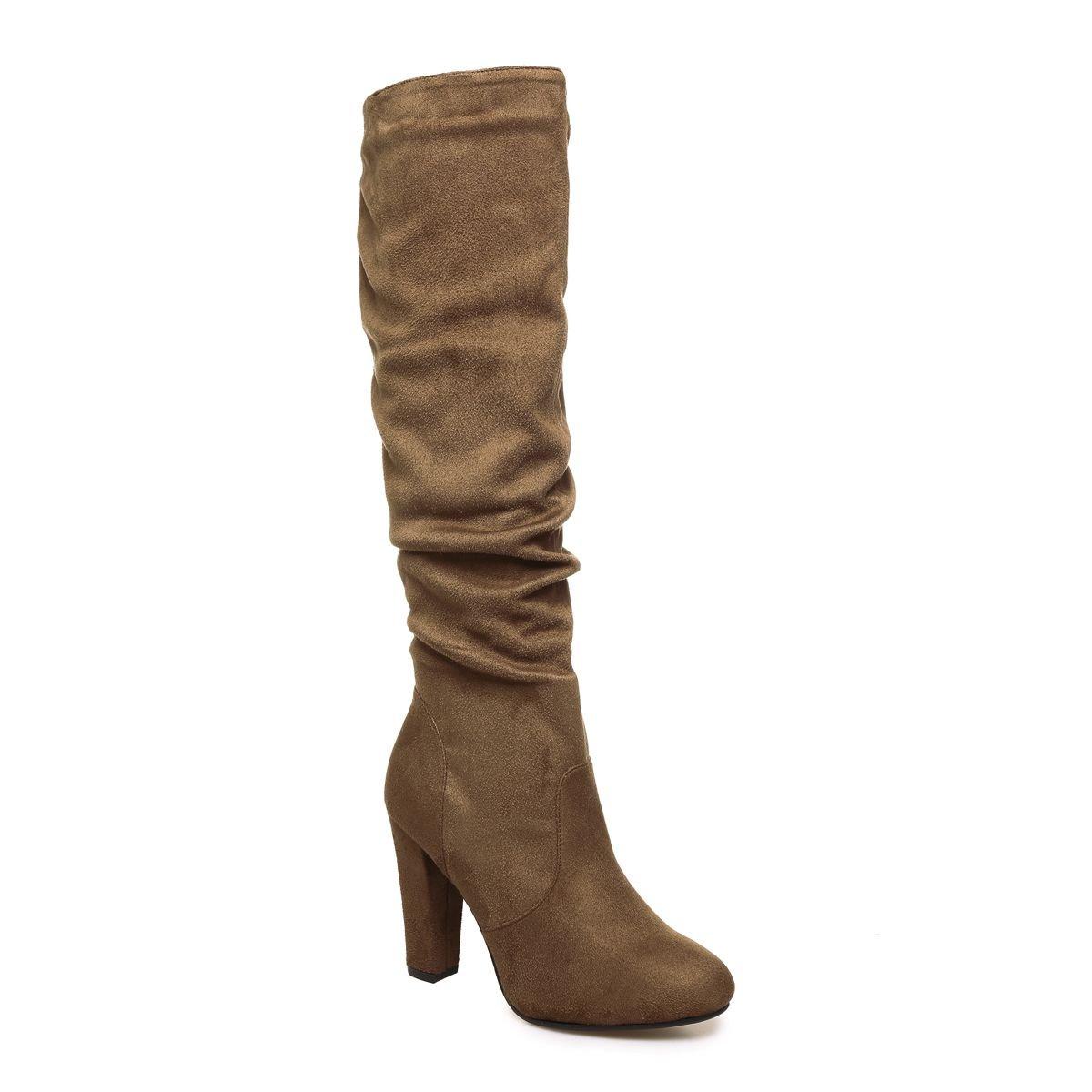 La Modeuse - Botas para mujer40 EU|marrón