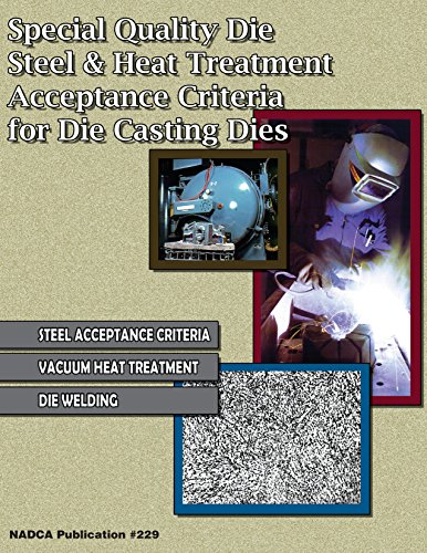 Special Quality Die Steel & Heat Treatment Acceptance Criteria for Die Casting Dies