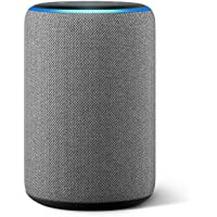 All-new Echo (3rd Gen) - Smart speaker with Alexa - Heather Gray
