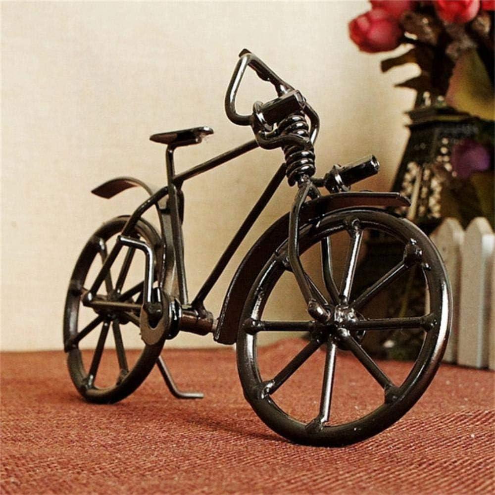 THREE Modelo de Bicicleta Antigua Metal Craft Decoración del hogar ...