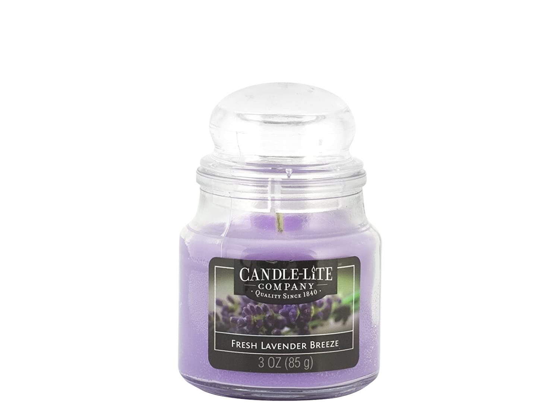 Candle-Lite 6050 Candela Profumata Lavanda, Cera, Viola, 6 x 6 x 9 cm 4173404