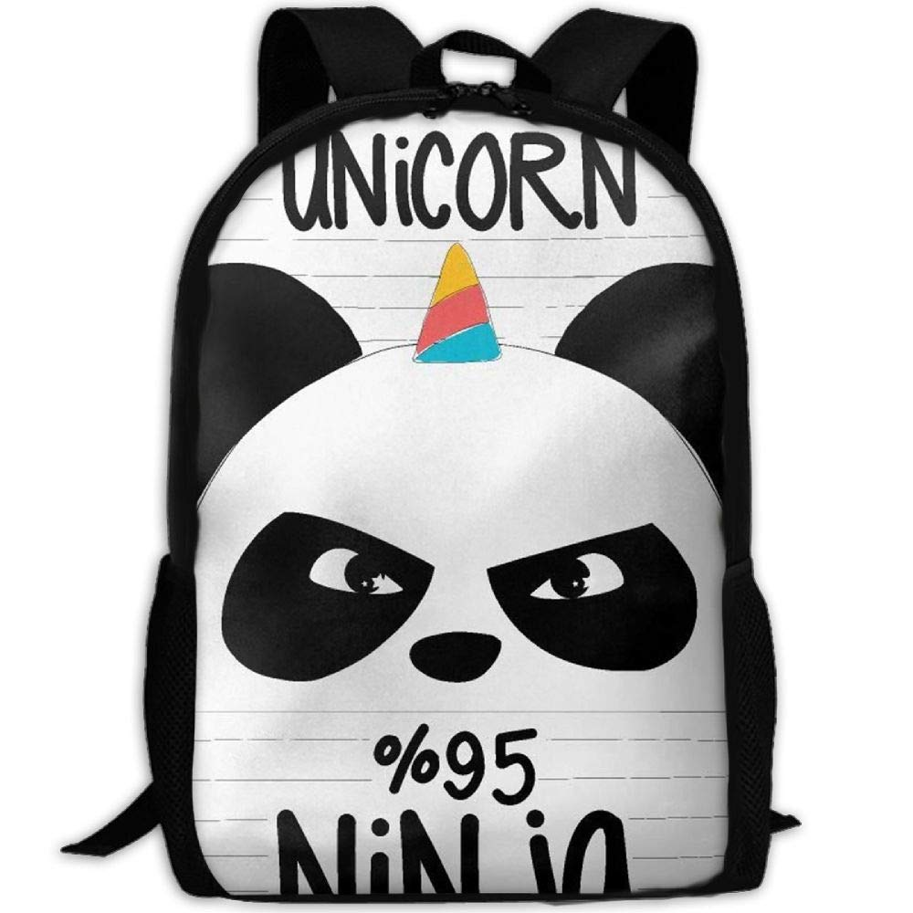 Amazon.com: Fashion Ninja Panda And Unicorn Interest Outdoor ...