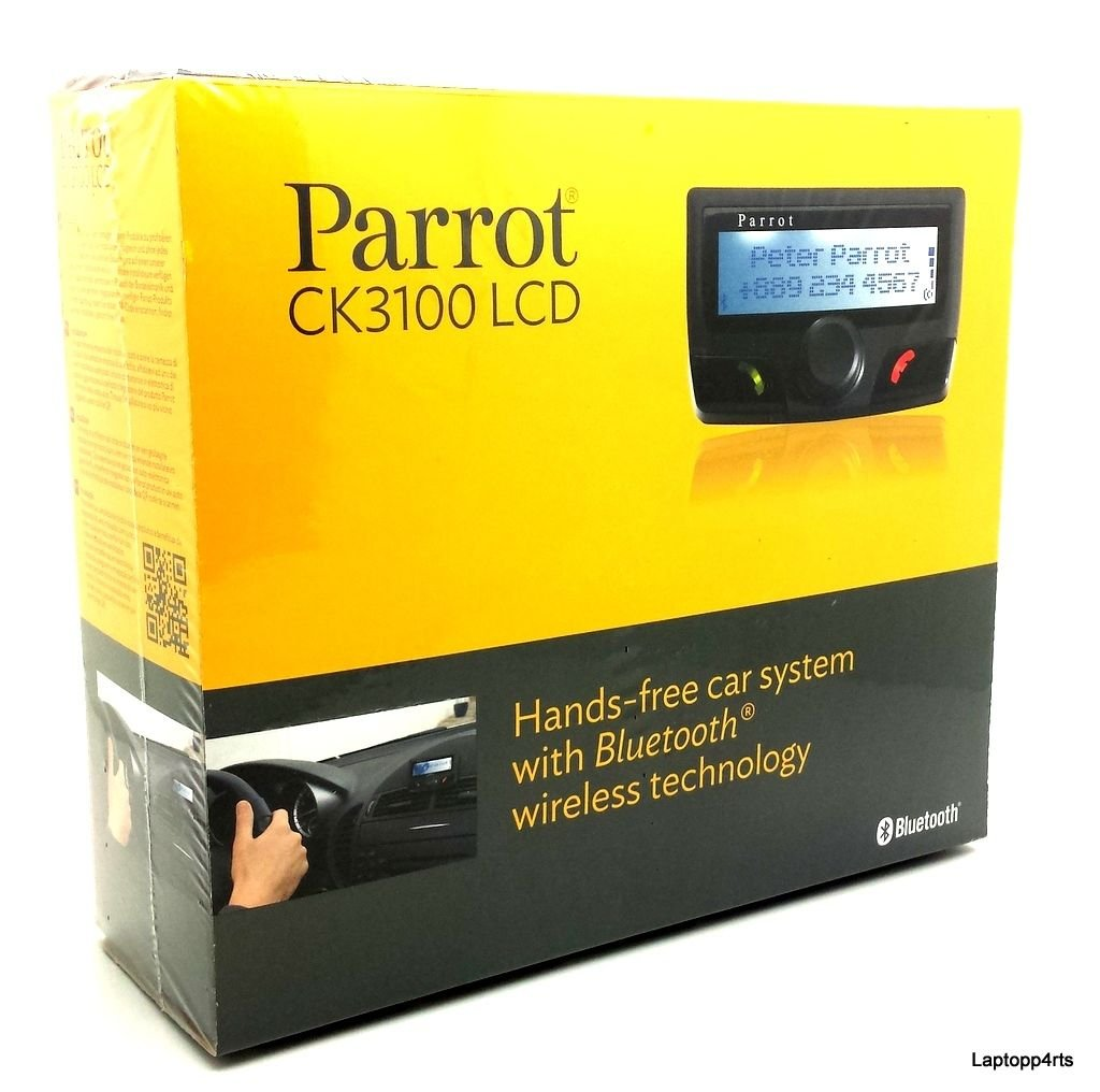 Parrot Ck3100 Hands Free Car Kit Camera Photo Idwireless Fm Radio Headset W Transmitter Base Station Remote Black
