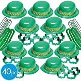 St. Patrick's Day 40pc Party Kit for 20