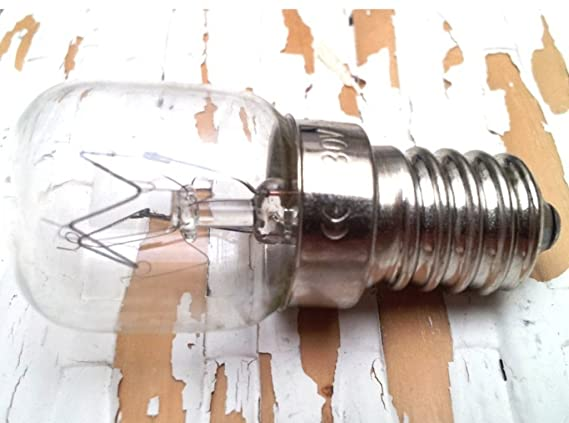 BOMBILLA PARA HORNO 25W 47 X 21 MM FILAMENTO E14 300°C: Amazon.es: Bricolaje y herramientas