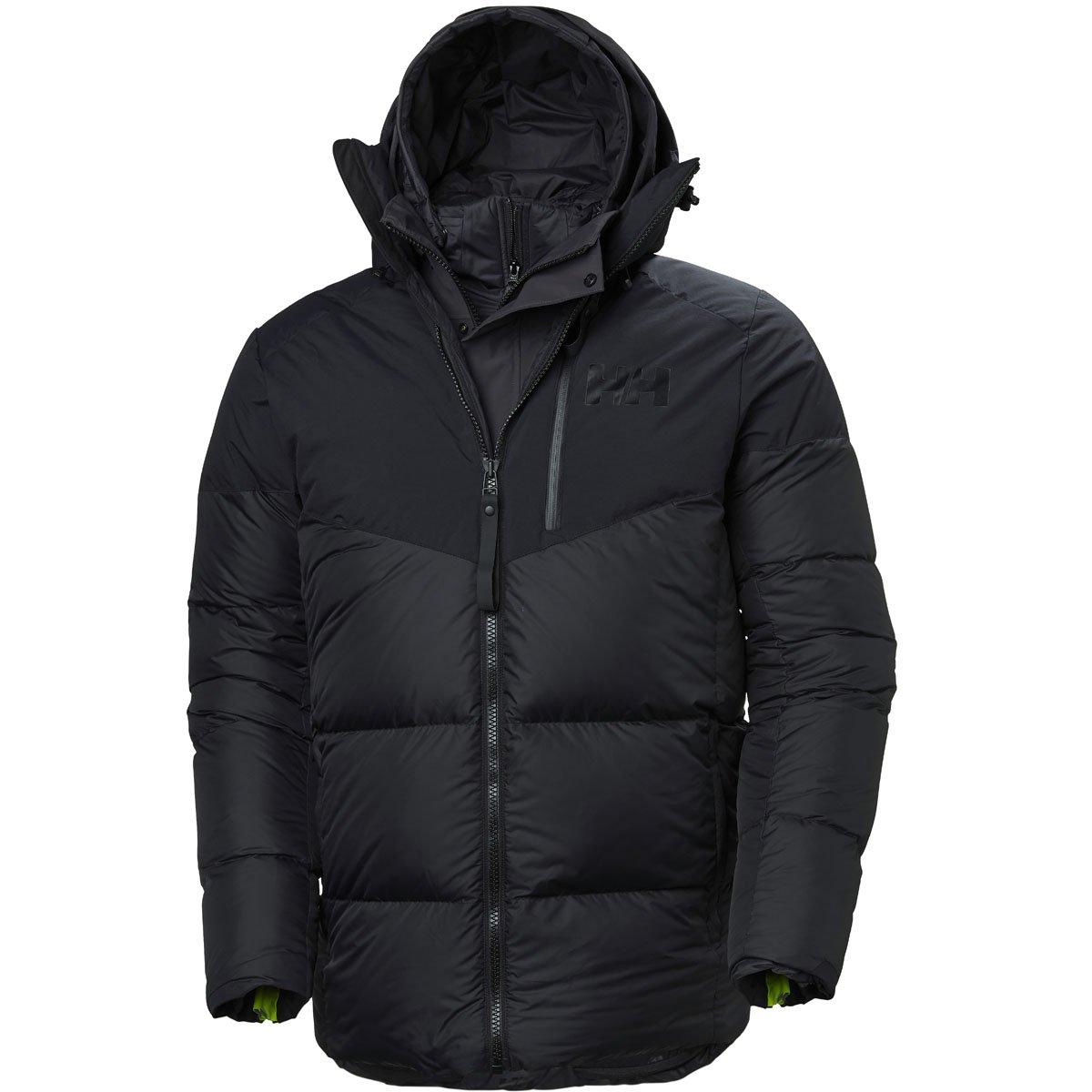 Helly Hansen Men Down Jacket 365-in-1 Parka, Farbe:Black, Größe ...