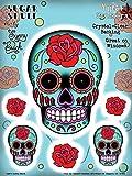 Sunny Buick Rose Sugar Skull Sticker / Decal
