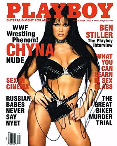 (WWE WWF TNA CHYNA AUTOGRAPHED 8X10 PHOTO PLAYBOY SIGNED AUTOGRAPH)