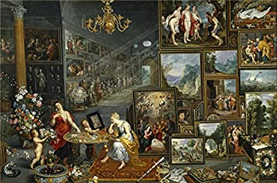 Oil Painting 'Brueghel The Elder Jan La Vista Y El Olfato Ca. 1620 ' Printing On Polyster Canvas , 18 X 27 Inch / 46 X 69 Cm ,the Best Bar Artwork And Home Artwork And Gifts Is This Best Price Art Decorative Prints On Canvas
