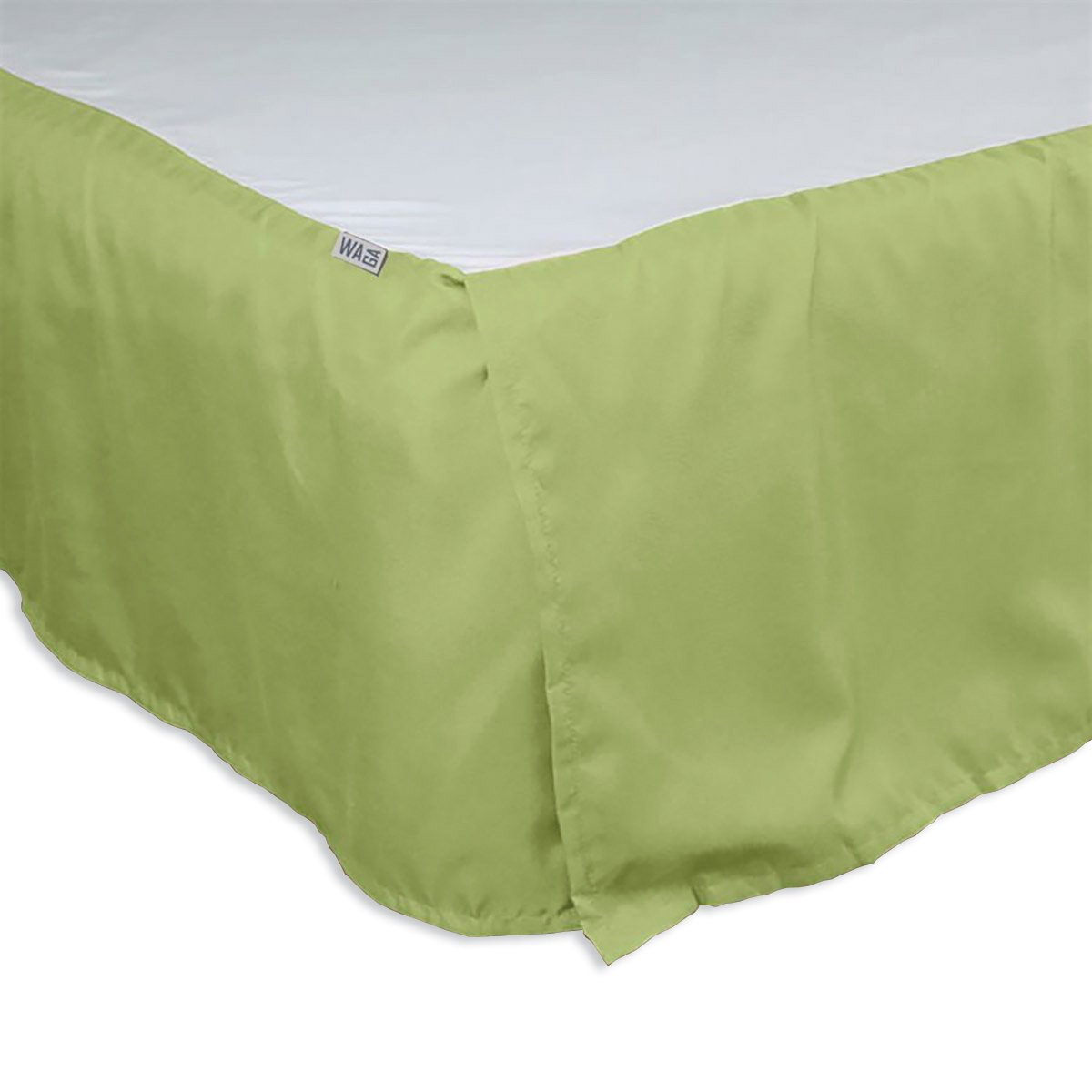 Waga Bed Skirt - Lime Green, King (78'' x 80'') by Waga (Image #1)
