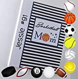 Basketball Photo Album IA#886 4x6 or 5x7 Pictures Tournament Team Mom Coach Gift Summer Team Sport Championship Football Softball Volleyball Soccer Baseball Hockey Golf Pool Rugby