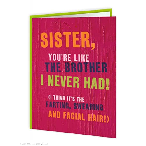 Funny Sister Birthday Card Amazon