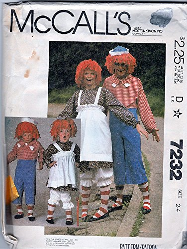 McCal (Raggedy Ann Costume And Andy)